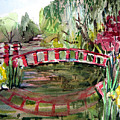 Homage To Monet by Mindy Newman