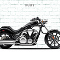 Honda Fury by Mark Rogan