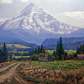 Hood River Valley by Donald Neff