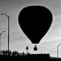 Hot Air Balloon Bridge Crossing by Bob Orsillo