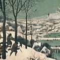 Hunters In The Snow by Pieter the Elder Bruegel