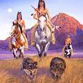 Hunters Of The Full Moon by Howard Dubois