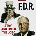 I Want You Fdr  by War Is Hell Store