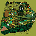 Iguana - Color by Karl Addison