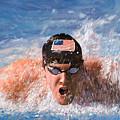 Il Nuotatore by Guido Borelli