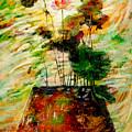 Impression In Lotus Tree by Atiketta Sangasaeng