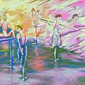 In Ballet Class by Cynthia Sorensen