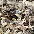 In The Duchesss Kitchen by Arthur Rackham