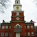 Independence Hall In Philadelphia by Bill Cannon
