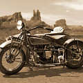 Indian 4 Sidecar by Mike McGlothlen