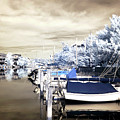 Infrared Boats At Lbi by John Rizzuto