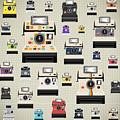 Instant Camera Pattern by Setsiri Silapasuwanchai