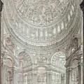 Interior Of Saint Pauls Cathedral by John Coney