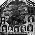 Ira Wall Mural Belfast by Joe Fox