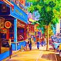 Irish Pub On Crescent Street by Carole Spandau