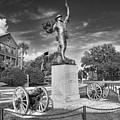 Iron Mke Statue - Parris Island by Scott Hansen