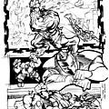 Ironman Vs Hulk by Isaac Cordova