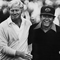 Jack Nicklaus, Lee Trevino, At The U.s by Everett