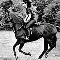 Jacqueline Kennedy, Riding A Horse by Everett