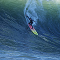 Jay Drops In At Mavericks by Stan and Anne Foster
