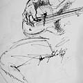 Jazz Bass Guitarist by Jamey Balester