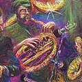 Jazz Jazzband Trio by Yuriy  Shevchuk