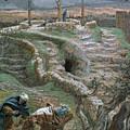 Jesus Alone On The Cross by Tissot