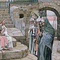 Jesus And The Little Child by Tissot