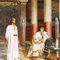 Jesus Being Interviewed Privately by William Brassey Hole