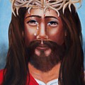 Jesus In Red by Joni McPherson