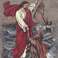 Jesus Saves Peter by Morgan Fitzsimons