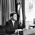 Jfk Addresses The Nation  by War Is Hell Store