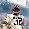 Jim Brown by Dave Olsen