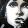 Jim Morrison Ravens Claws   by Jon Baldwin  Art