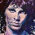 Jim Morrison The Lizard King by David Lloyd Glover