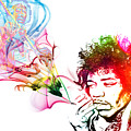 Jimmi Hendrix by The DigArtisT