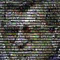 Joe Paterno Mosaic by Paul Van Scott