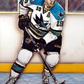 Joe Thornton San Jose Sharks by Dave Olsen