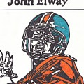 John Elway 2 by Jeremiah Colley
