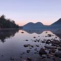 Jordan Pond Reflections - Acadia by Stephen  Vecchiotti