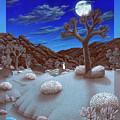 Joshua Tree At Night by Snake Jagger
