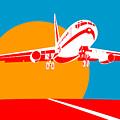 Jumbo Jet  by Aloysius Patrimonio