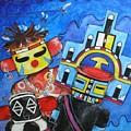 Kachina Knights by Elaine Booth-Kallweit