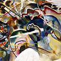 Kandinsky: White, 1913 by Granger