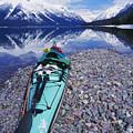 Kayak Ashore by Bill Brennan - Printscapes