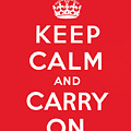 Keep Calm And Carry On by English School