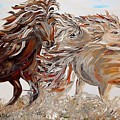 Kicking Up Dust by Eloise Schneider