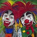 Kid Clowns by Patty Vicknair