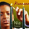 Kwanzaa Nia by Shaboo Prints