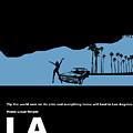 La Night Poster by Naxart Studio